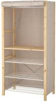 Тканевый шкаф Ikea Ивар 693.029.10 -