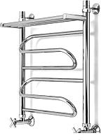 Полотенцесушитель водяной Granula Браво 50x60 с полкой (нижнее подключение) -