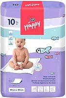 Набор пеленок одноразовых детских Bella Baby Happy Classic 60x60 (10шт) -