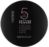 Фиксирующая пудра для лица Catrice Setting Powder тон 010 5 в 1 (9г) -