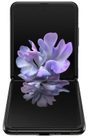 Смартфон Samsung Galaxy Z Flip / SM-F700FZKDSER (черный бриллиант) -