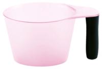 Емкость для смешивания краски Sergio Professional 400мл (прозрачно-розовый) -