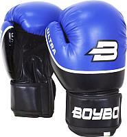 Боксерские перчатки BoyBo Ultra 12oz (синий) -
