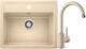 Мойка кухонная Blanco Legra 6 + смеситель Mida / 523336M2 (шампань) -