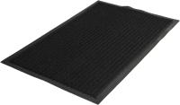 Коврик грязезащитный Kovroff Стандарт ребристый 120x150 / 20601 (черный) -