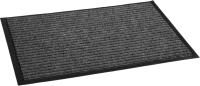 Коврик грязезащитный Kovroff Стандарт ребристый 120x250 / 21102 (серый) -