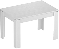 Обеденный стол Eligard Arris 1 (белый структурный) -
