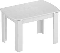 Обеденный стол Eligard Arris 2 (белый структурный) -