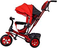Детский велосипед с ручкой GalaXy Виват 1 (красный) -