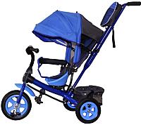 Детский велосипед с ручкой GalaXy Виват 1 (синий) -