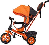 Детский велосипед с ручкой GalaXy Виват 1 (оранжевый) -