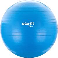 Фитбол гладкий Starfit GB-104 (75см, голубой) -