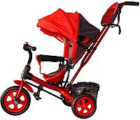 Детский велосипед с ручкой GalaXy Виват 2 (красный) -