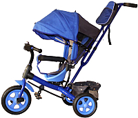 Детский велосипед с ручкой GalaXy Виват 2 (синий) -