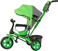 Детский велосипед с ручкой GalaXy Виват 2 (зеленый) -
