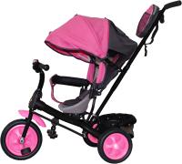 Детский велосипед с ручкой GalaXy Виват 2 (розовый) -