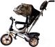Детский велосипед с ручкой GalaXy Виват 2 (хаки) -