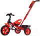 Детский велосипед с ручкой GalaXy Виват 3 (красный) -