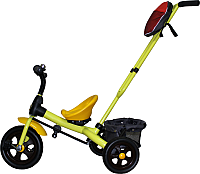 Детский велосипед с ручкой GalaXy Виват 3 (желтый) -