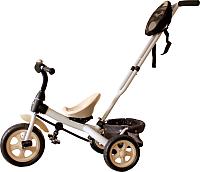 Детский велосипед с ручкой GalaXy Виват 3 (белый) -