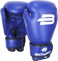Боксерские перчатки BoyBo Basic (10oz, синий) -