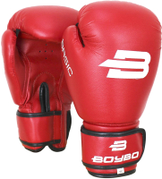 Боксерские перчатки BoyBo Basic (6oz, красный) -