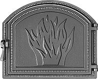 Дверца печная Везувий 218 (антрацит) -