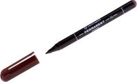 Маркер перманентный Centropen 1мм M / 2846 9411 (коричневый) -