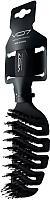 Расческа VO7 Черный бархат с натуральной щетиной (24x7) -