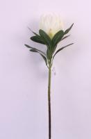 Искусственный цветок Orlix Протея / 06-145-O/1 (белый) -