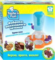 Набор для творчества Taste'n fun Фабрика шоколадного печенья / 36657 -