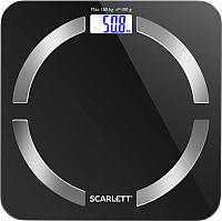 Напольные весы электронные Scarlett SC-BS33ED45 (черный) -