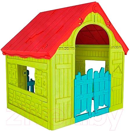Купить Домик Keter, Foldable Playhouse / 228445 (салатовый), Израиль, пластик