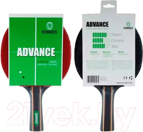 Купить Ракетка для настольного тенниса Torres, Advance TT0004, Китай