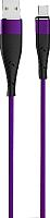 Кабель Olmio Solid USB 2.0 - Type-C 2.1A / 039053 (1.2м, индиго) -