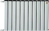 Радиатор алюминиевый Anit Pioneer 100 (14 секции, белый) -
