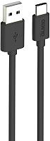 Кабель Olmio USB 2.0 - USB type-C / 039518 (3м, черный) -