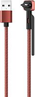 Кабель Olmio Stand USB 2.0 - microUSB 2.1A / 039504 (1.2м) -
