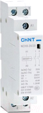 Контактор Chint NCH8-20/11 / 256052