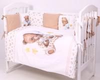 Комплект постельный в кроватку Топотушки Пижамная вечеринка / 684 -
