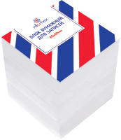 Блок для записей Attomex 2012906 (белый) -