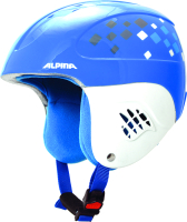 Шлем горнолыжный Alpina Sports Carat / A9035-87 (р-р 48-52, синий) -