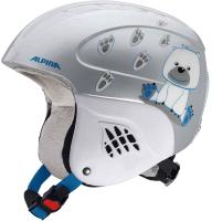 Шлем горнолыжный Alpina Sports Carat / A9035-86 (р-р 48-52, Ice Bear) -