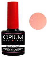 База для гель-лака Opium French nano nails base color 8 (8мл) -