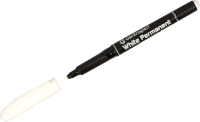 Маркер перманентный Centropen 1.2мм светостойкий / 2686 0100 (белый) -