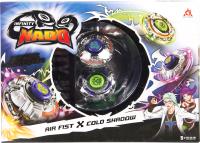 Игровой набор Infinity Nado Два волчка Сплит Fist & Shadow / 36059 -