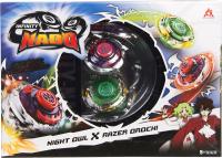 Игровой набор Infinity Nado Два волчка Сплит Owl & Orochi / 36060 -