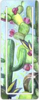 Закладка для книг Феникс+ Цветущий кактус / 48995 (зеленый) -