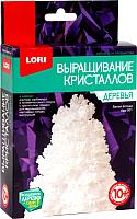 Набор для выращивания кристаллов Lori Деревья. Белая елочка / Крд-001 -