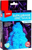 Набор для выращивания кристаллов Lori Деревья. Голубая елочка / Крд-003 -